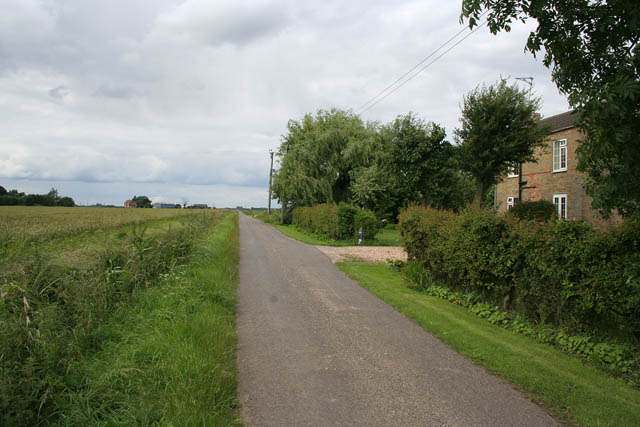 Narrow Lane near Whaplode St Catherine
