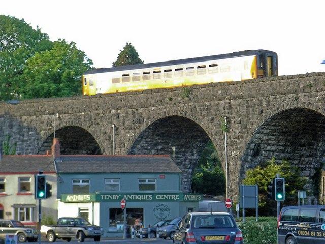 Viaduct at Tenby