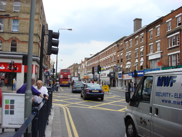 A5, Kilburn High Road