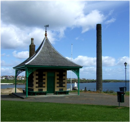 The old Pilot House, Wick Harbour
