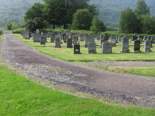 Cemetery at Inveraray