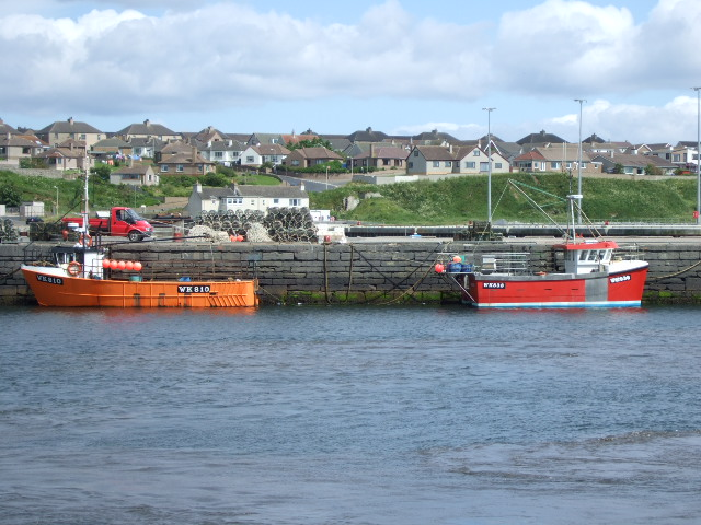 Local (Wick registered) fishing boats