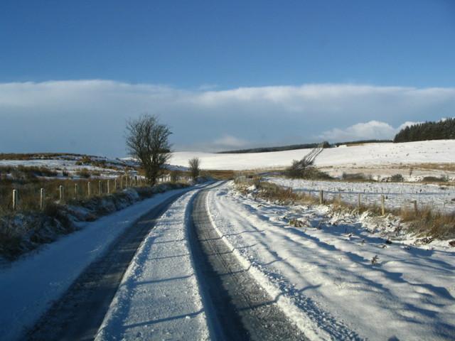 Mynydd Wysg In Winter