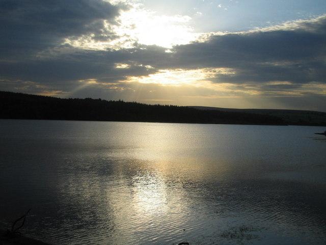 Swinsty Reservoir from Swinsty Embankment