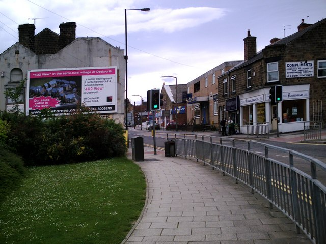 Racecommon Rd. at Townend, Barnsley