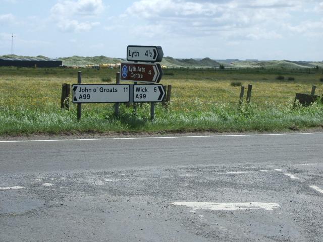 Lyth junction at Westerloch