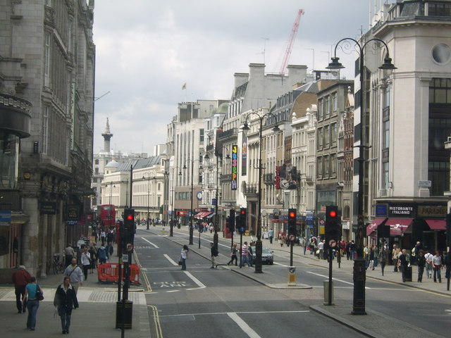 Strand, looking west to Nelson's Column