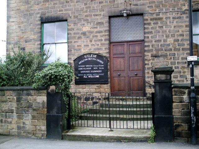 Salem Chapel, Blucher St. Barnsley