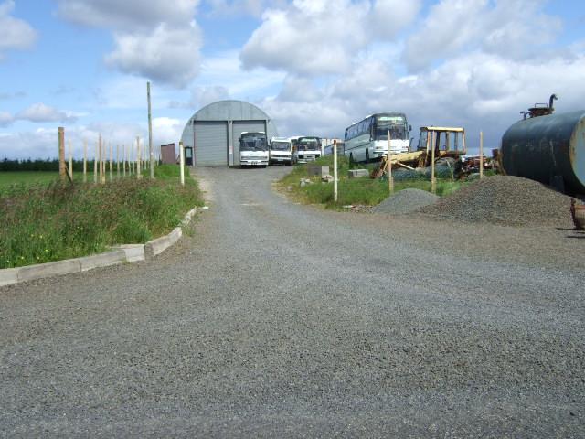 Mireland bus depot