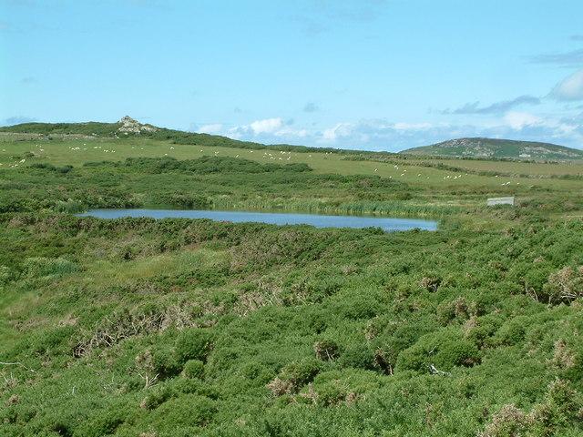 Lake near Porthllisky