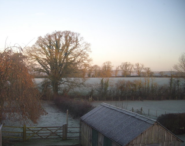 Totnell: early winter morning