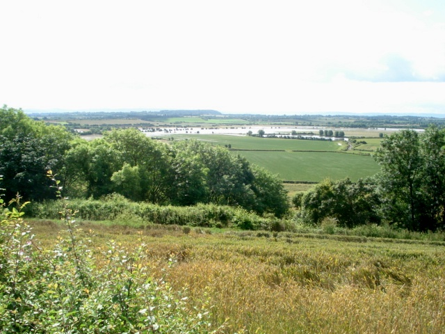 View over Longdon Marsh from the Hillend Court road