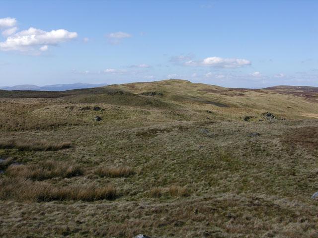 The uplands of Carn Hyddgen