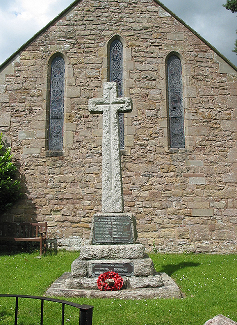 War memorial, Weston-under-Penyard