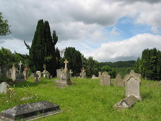 Churchyard of St. Lawrence's Church, Weston-under-Penyard