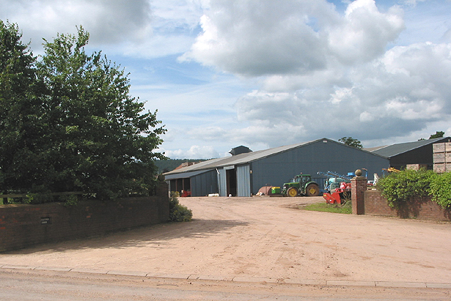Entrance to Bollitree Farm