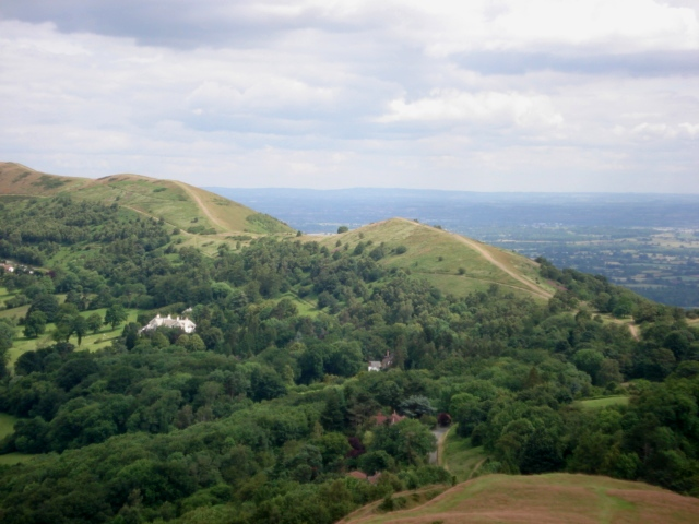 View from the Herefordshire Beacon