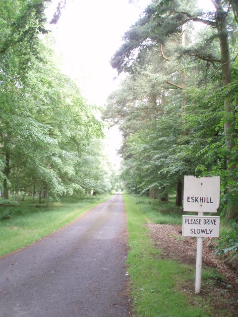 Driveway to Eskhill