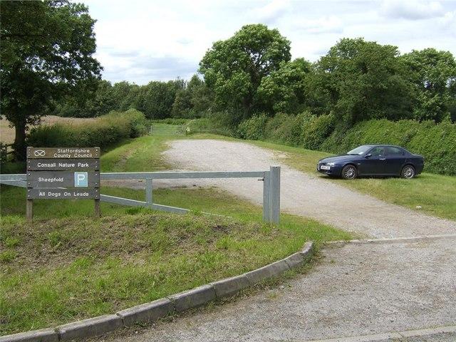 Sheepfold Car Park, Consall Nature Park