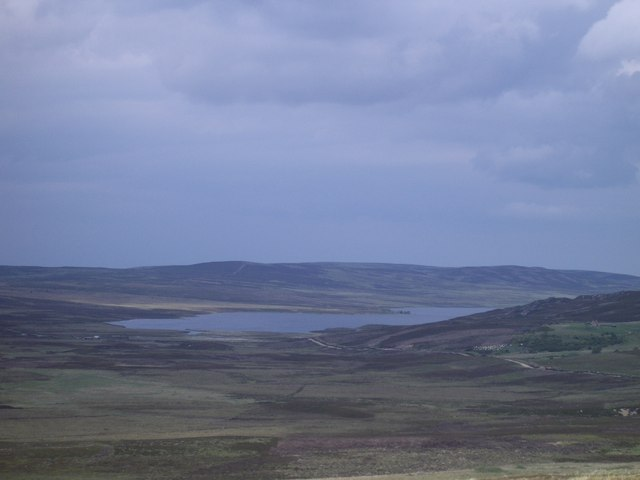 Drumroy Farm and view of the southern end of Lochindorb