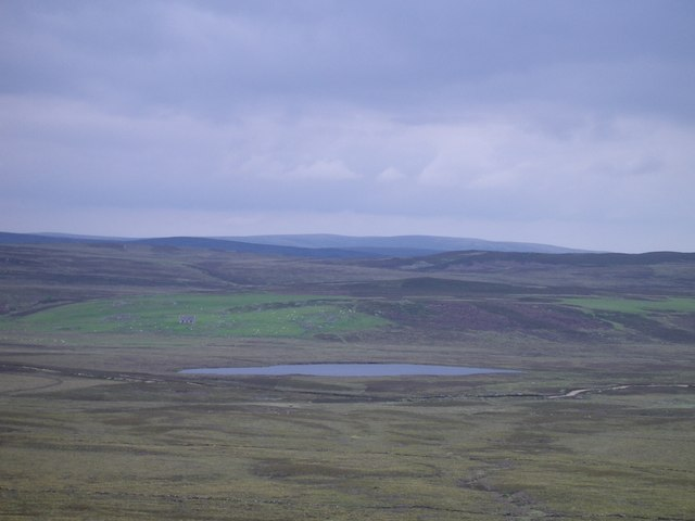Lochan Dubh from the east