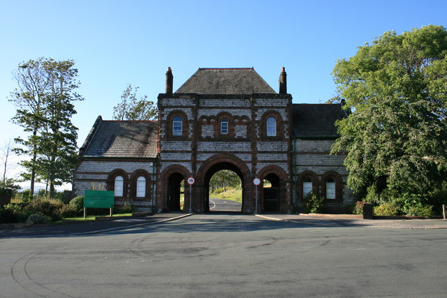 Entrance to Barrow Cemetery
