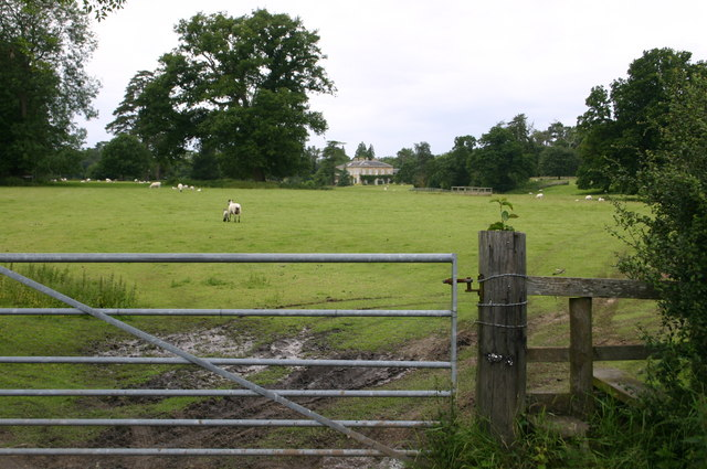 Redenham park and house