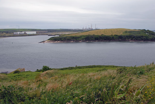 Pembroke River at Pennar Mouth from Pennar Point