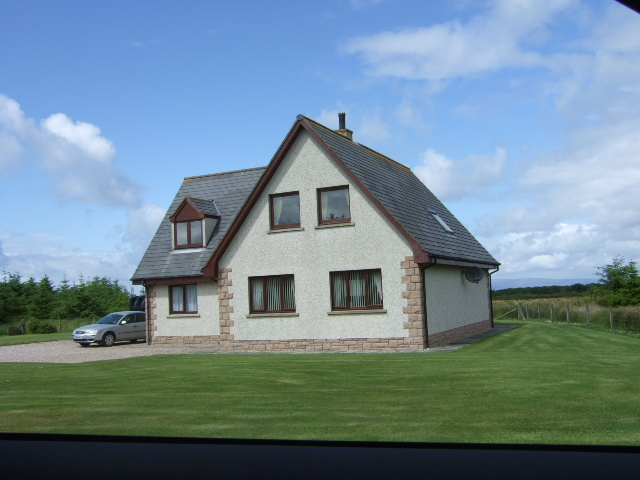 A new house on the Barrock road (2007)