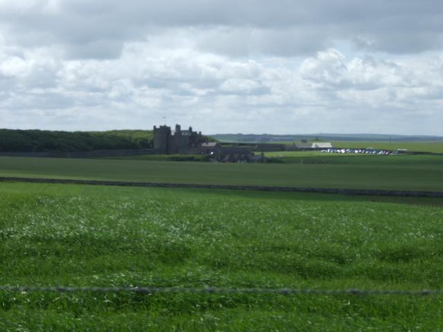 View towards Castle of Mey