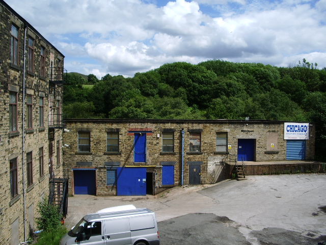 """Chicago Coating Company"" part of Weir Mill"