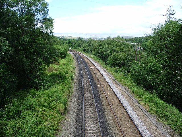 Huddersfield to Manchester Railway