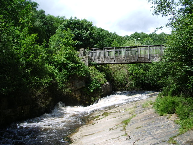 Footbridge over the River Tame