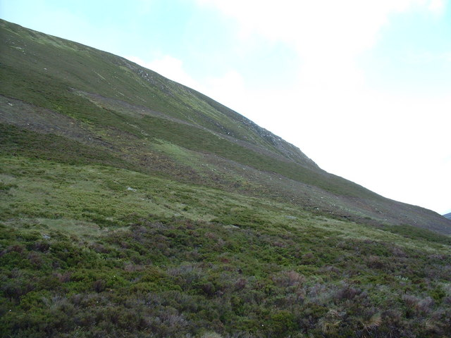 Flank of the Creag na h-Iolair Mhor