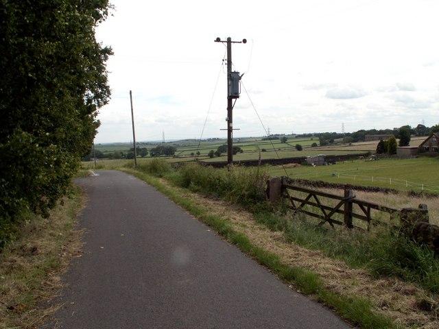 Joan Royd Lane looking east