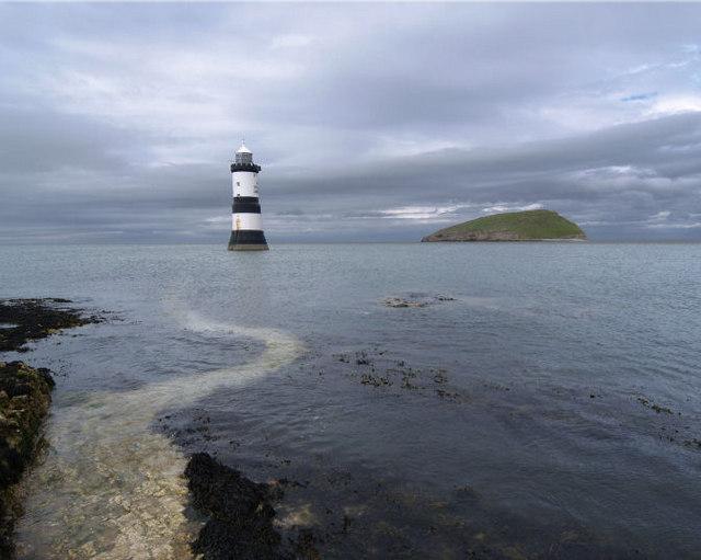 Trwyn Du lighthouse Anglesey