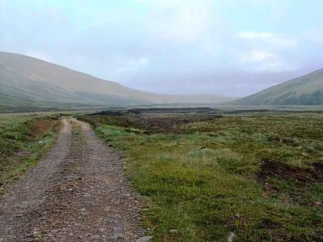 Towards the reservoir at Bruar Lodge