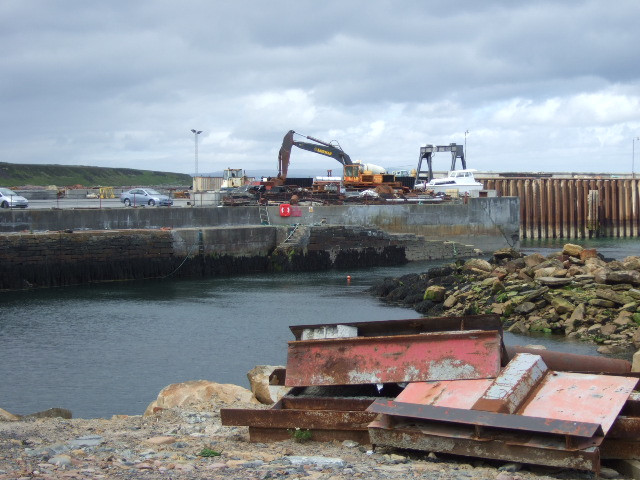 Development construction at Gills Bay
