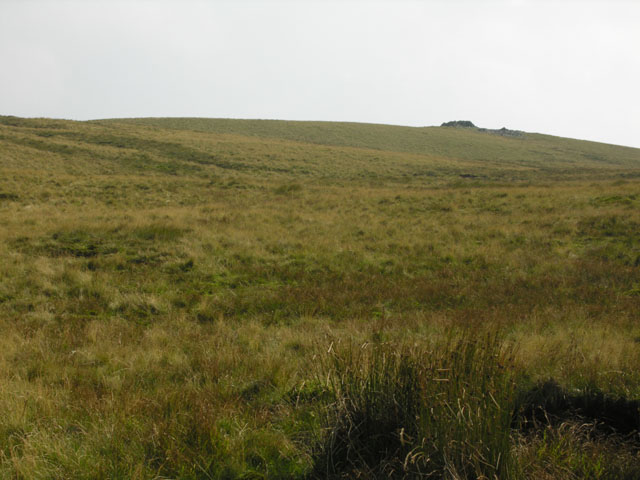 Trawsallt approach from the north