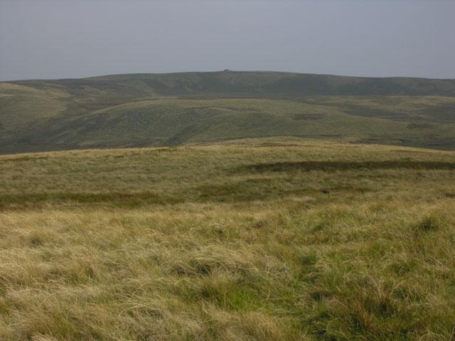 Moorland north west of Llan Ddu Fawr