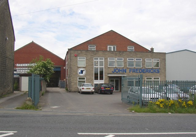 Factory offices, Lindley Moor Road, Fixby
