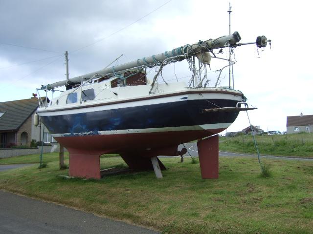 Boat at Huna