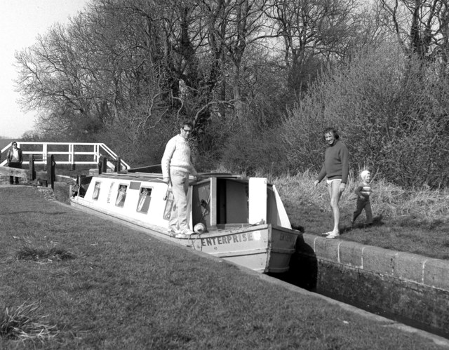 Welford Lock, Grand Union Canal