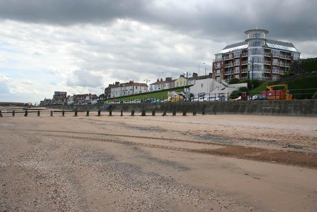 Cleethorpes beach