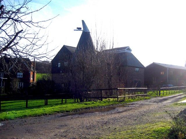 Badsell Park Farm Oast, Crittenden Road, near Matfield