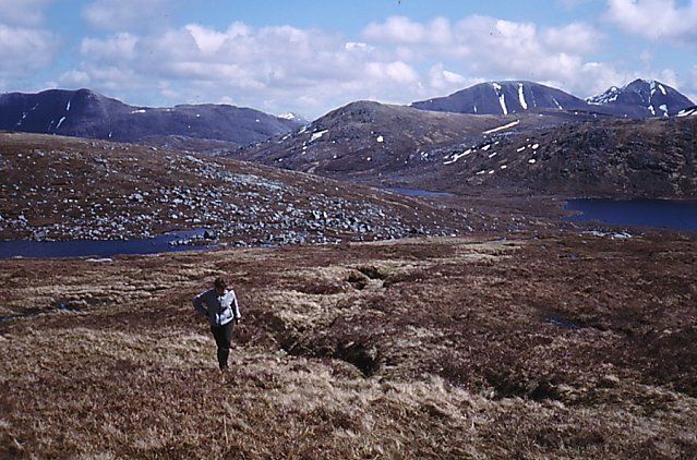 Above Lochan Cnapach