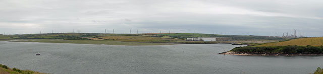 Pembroke River from Pennar Mouth