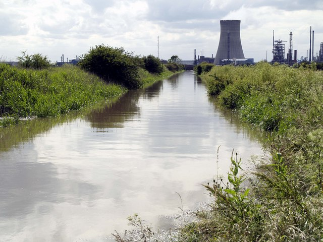 Flooded Burstwick Drain