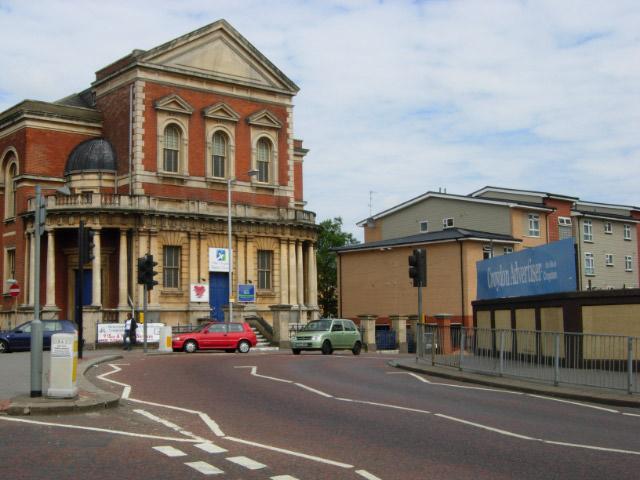 St James's Road/Whitehorse Road Junction, Croydon