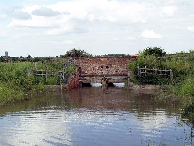 Burstwick Drain Flood